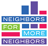 Neighbors for More Neighbors logo